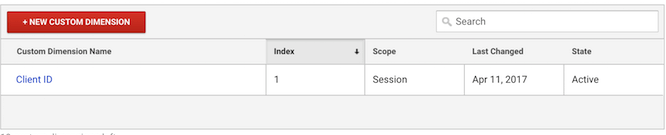 add client id to google analytics