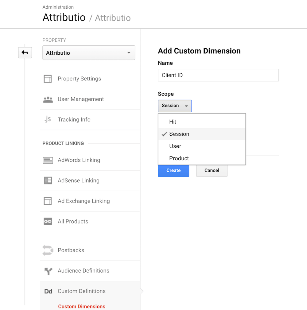 add session based client id to google analytics